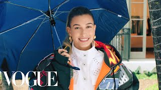 Download Video 73 Questions With Hailey Bieber | Vogue MP3 3GP MP4