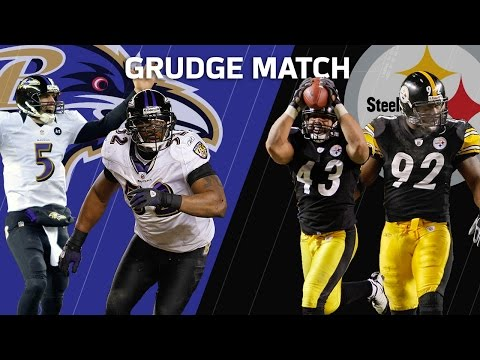 Video: Troy Polamalu Sends Pittsburgh to the Super Bowl   Ravens vs. Steelers   Grudge Match   NFL NOW