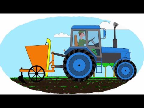Раскраски трактора все серии
