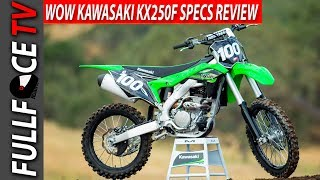 5. 2017 Kawasaki KX250F Review Price and Specs