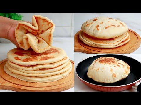 নরম তুলতুলে পাতলা ফুলকো নান তৈরির রেসিপি | Easy Soft Naan Recipe | Folko Naan | Eid Special Nasta