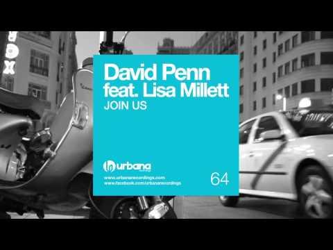 David Penn feat Lisa Millet - Join Us, Original Mix - URB064