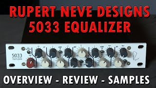 http://www.purewaveaudio.com/shop-by-brand/rupert-neve-designs -- (520) 447-8116 In this video, veteran audio engineering ...