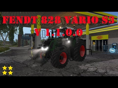 Fendt 828 Vario S3 v1.1.0.0