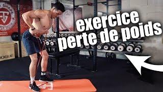 5 EXERCICES POUR PERDRE DU POIDS EFFICACEMENT !