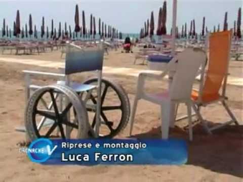 """una spiaggia """"speciale"""" per i disabili"""