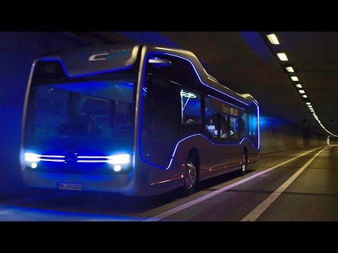 Mãn nhãn với xe buýt đô thị tự lái Mercedes-Benz Future Bus