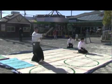 2011柿の実幼稚園鏡開き演武2/3