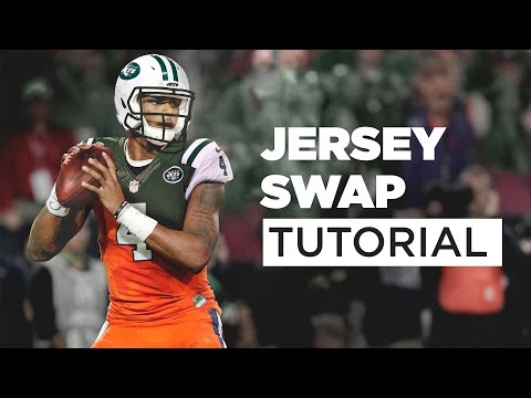 How to Jersey Swap: Deshaun Watson to New York Jets Tutorial (видео)