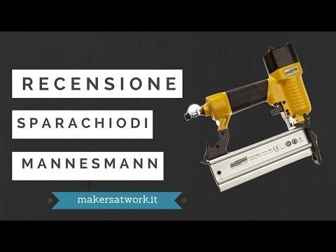 Recensione chiodatrice Mannesmann