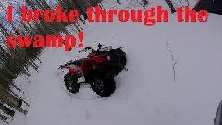 10. Kodiak 450 gets stuck (Solo ride)