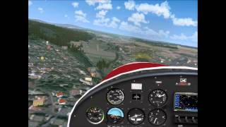 Bad Kissingen Germany  City new picture : FSX - Approaching Bad Kissingen