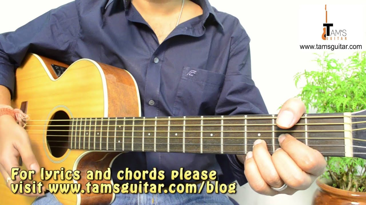 When you say nothing at all (Ronan Keating) guitar lesson easy song for beginners