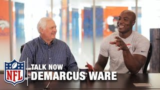 Reggie White Stories & Growing up with the Ryan's   Talk NOW with Demarcus Ware   NFL Now by NFL Network