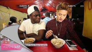 Abbas & Lee makan di Bubur Ayam Barito