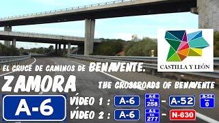 Benavente Spain  city photo : A-6 Zamora , El Cruce de Caminos de Benavente / The Crossroads of Benavente , Spain