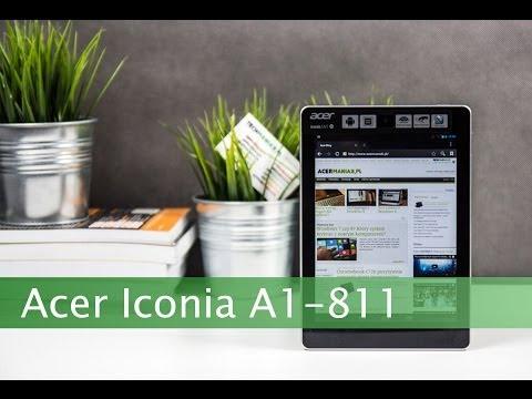 Wideo test i recenzja tabletu Acer Iconia Tab A1-811 | techManiaK.pl