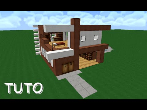 Beautiful Maison De Luxe Moderne Minecraft Tuto Pictures - Payn.us ...
