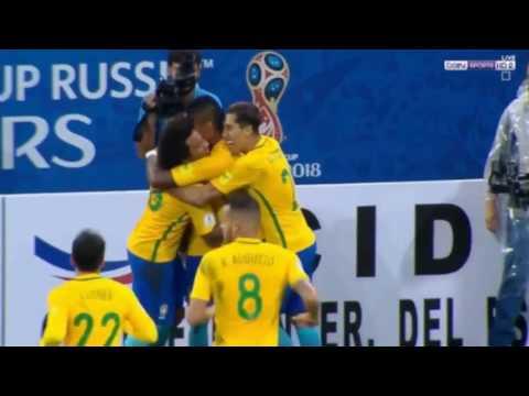 Brazil vs Paraguay 3-0 - All Goals & Highlights - World Cup 2018