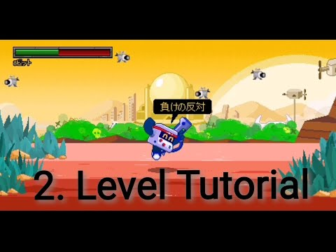 How to get into the 2. Level of the 8-Bit Minigame Tutorial + 2. Level complete / Batman - BS
