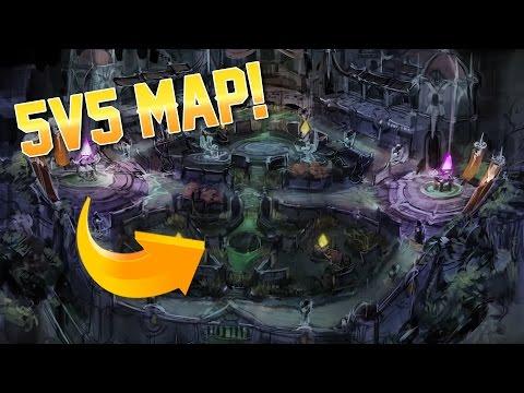 Vainglory News - 5v5 MAP REVEALED!! (видео)