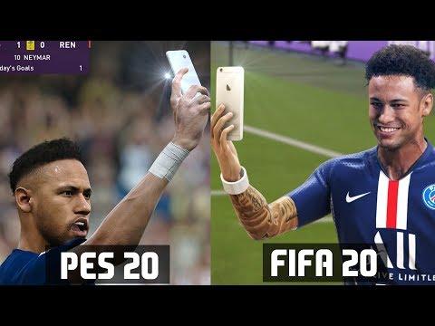 FIFA 20 VS PES 20 CELEBRATIONS COMPARISON