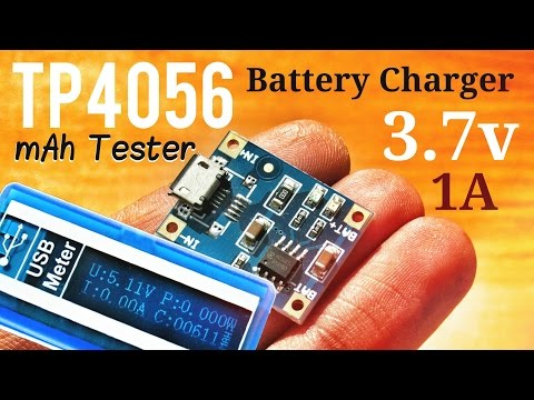 TP4056 Battery Charger | Lithium Cell Charger Module