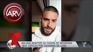 Maluma reabrió su cuenta de Instagram   Al Rojo Vivo