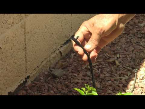 how to fix a leak in irrigation line