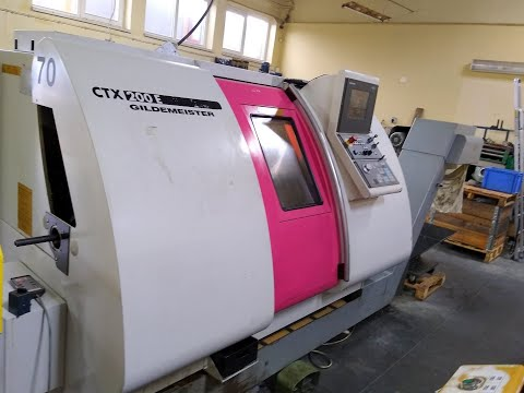Tokarka CNC DMG GILDEMEISTER CTX 200 E 2002