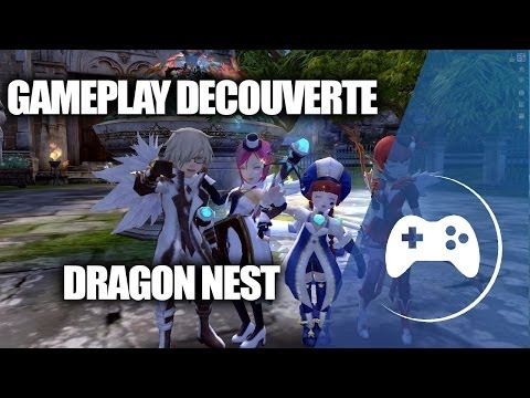 (Gameplay découverte) Dragon nest (Jeu gratuit en français)