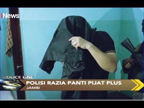 Razia Panti Pijat Plus-plus, Polisi Pergoki 2 Pria Lakukan Asusila - Police Line 12/12