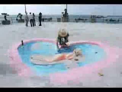 Julian Beever Redondo Beach Beauty