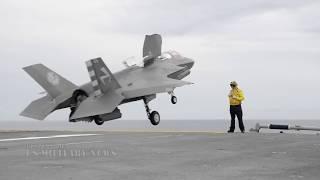 Video Watch This Crazy Footage: F-35B Short Takeoff/Vertical Landing (Amazing Compilation) MP3, 3GP, MP4, WEBM, AVI, FLV September 2019
