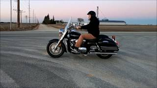 1. 2008 Kawasaki Vulcan Nomad 1600 Full Throttle Reviews - Cobra Dual Exhaust