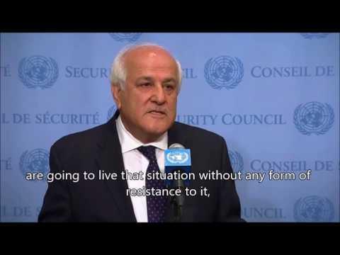 Palestinian UN ambassador justifies slaughter of Israeli family