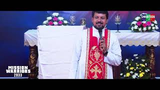 Rev. Fr. Daniel Poovanathil Talk [ Part - 1] Mission Warriors - 2033