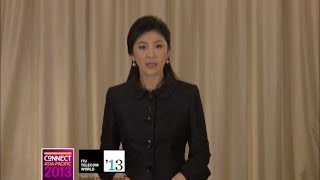 H.E Yingluck Shinawatra, Prime Minister, Thailand  - Video Message