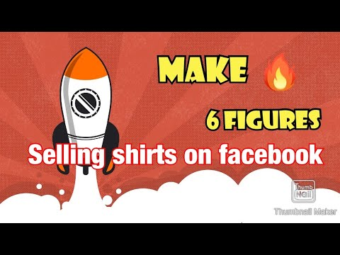 How to make money online selling tee shirts for free!
