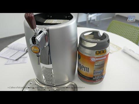Krups Beertender VB320E - Démo de la tireuse à bière en français