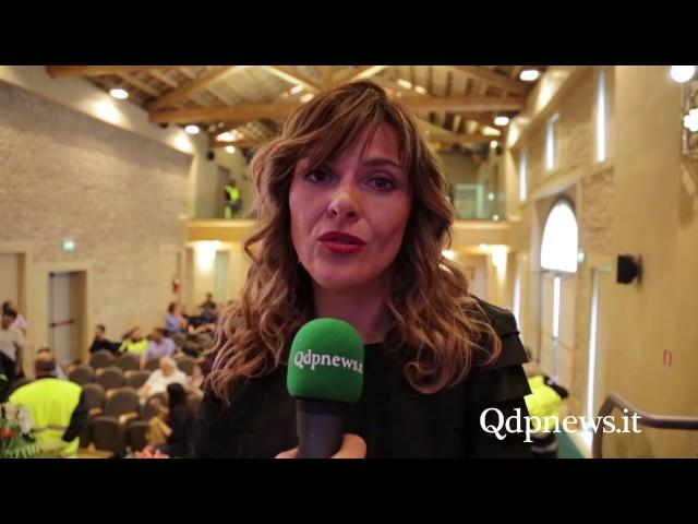Miane - Consegna dei fondi raccolti ai terremotati di Montemonaco