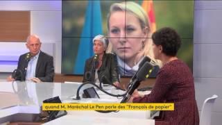 """Video Najat Vallaud-Belkacem réagit au terme de """"Français de papiers"""" employé par Marion Maréchal-Le pen MP3, 3GP, MP4, WEBM, AVI, FLV Mei 2017"""