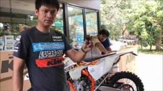 7. Unboxing 2017 KTM 350 EXC-F Six Days