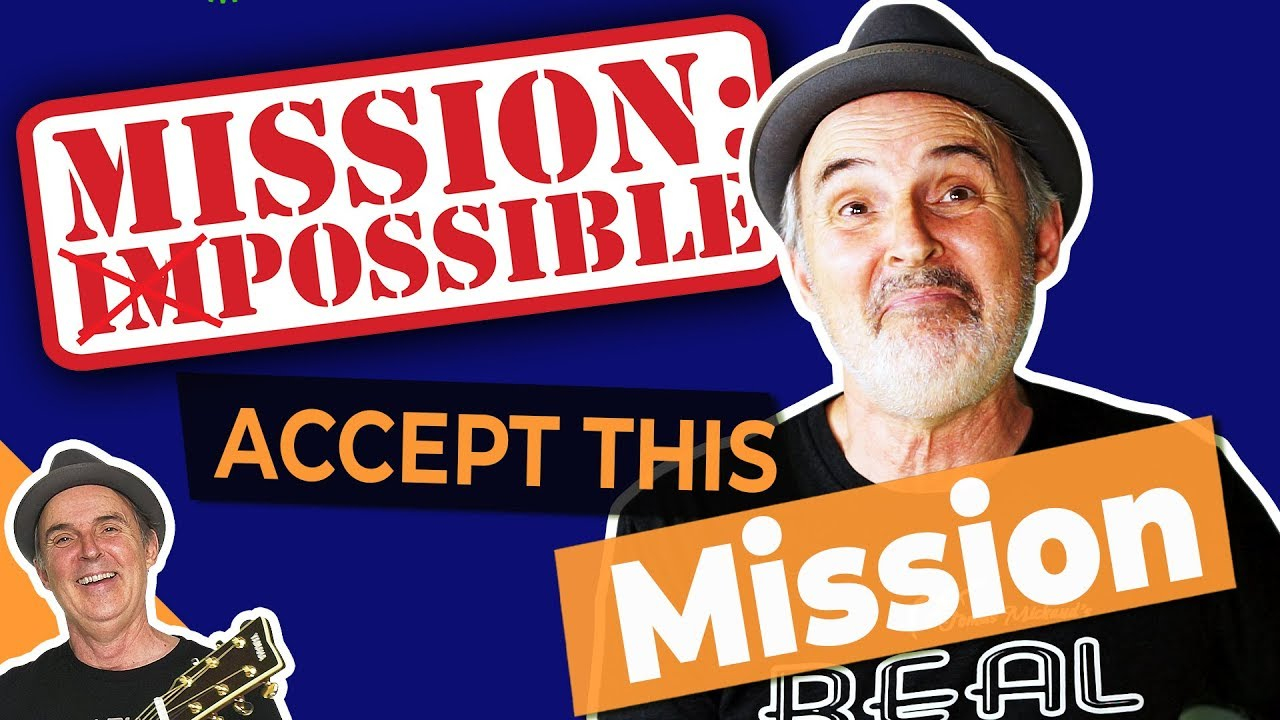 Basic Mission Impossible on Guitar | Easy Guitar Songs