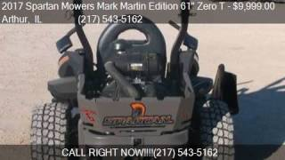 10. 2017 Spartan Mowers Mark Martin Edition 61 Zero T Vanguard 3
