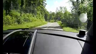 2012 ASTON MARTIN RAPIDE Start Up And City Driving Exhaust V12 477 Ch Test/essai