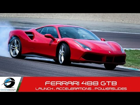 ferrari 488 gtb - test drive fiorano