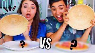 GUMMY FOOD VS REAL FOOD CHALLENGE ?!! Jonathan et Amandine