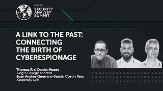 Cyberespionage research has come a long way. It seems like every week involves the revelation of a sophisticated, groundbreaking operation equipped with cutting-edge malware, crafty exploits, and marketing to match. Three assumptions dominate the discussion: that our knowledge of advanced threats has a short shelf-life; that new attacks happen quickly; and that tracing these campaigns is difficult, made harder by perishable forensic evidence, making a proper historical analysis of the rise of these ubiquitous new threats outright impossible.But what if we were wrong? What if there were a vault? An innocuous node collecting information untouched for decades? What would we give for a glimpse of the defining cyberespionage operation of the closing 20th century, an up-close view on the rise of a new age of epic SIGINT battles between warring superpowers? The attack that brought cyberwar to the forefront of the American security establishment left open gaping questions. Our analysis will reveal that the ghosts of our past never really disappeared, that they've taken a new shape and haunt us to this day.*Get exclusive access to more presentations given at #TheSAS2017: https://kas.pr/721r