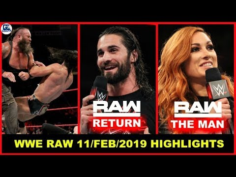 WWE Monday Night Raw- February 11, 2019 Highlights Preview | WWE Raw 11/02/2019 Highlight